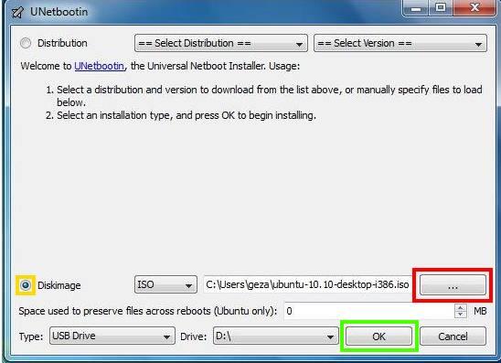Cum se face un stick USB bootabil cu UNetbootin